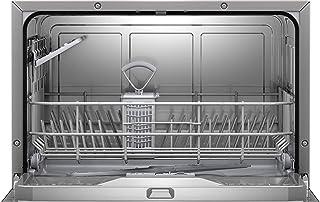 Bosch SKS51E38EU - Lave-vaisselle Compact Série 2 - Pose-libre, 55 cm - 6 couverts - 5 programmes - Moteur EcoSilence Driv...
