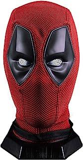 Wade Wilson Mask Superhero DP Helmet Knitted Props Red
