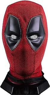 Deadpool Wade Wilson Mask, Marvel Superhero Helmet Knitted Props Red