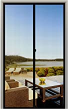 MAGZO Screen Door Magnets 36 x 84, Durable Fiberglass Door Mesh with Full Frame Hook&Loop for Entry Door Fits Door Size up to 36