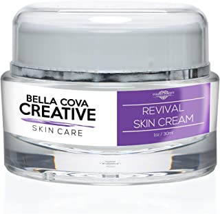 Bella Cova Creative Skin Care - Revival Skin Cream - Look Ageless with this Retinol Night Cream for Clearly Perfect Skin - Simply Restore Cream to Help Restore your Youthful Skin - Pure Night Cream