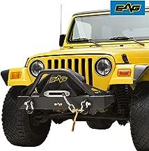 jeep yj front winch bumper