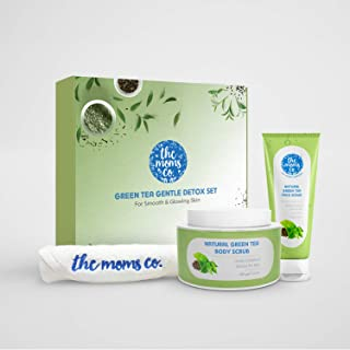 The Moms Co. Green Tea Gentle Detox Set For Smooth & Glowing Skin