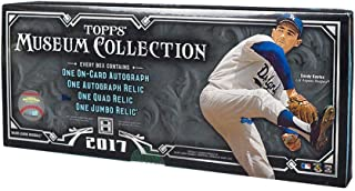 2017 topps museum collection box