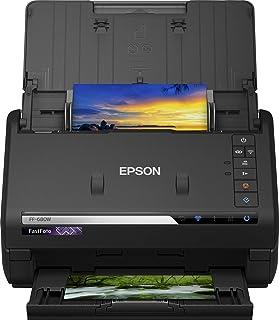 Epson B11B237401 Fastfoto Ff-680W Home Scanner, 45 Ppm, 300 Dpi, Zwart