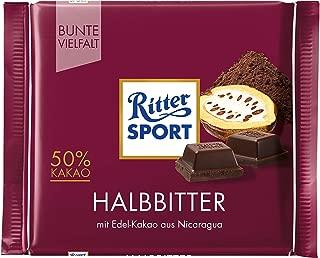 Ritter Sport Dark Chocolate Bar Candy Original German Chocolate 100g/3.52oz