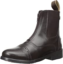 Equistar - Child's Zip Paddock Boot (All Weather) Brown-01