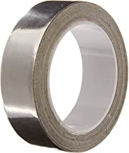 TapeCase Silver Aluminum Foil Tape with Conductive Acrylic Adhesive, Converted from 3M 1120, 6 yd Length, 0.25