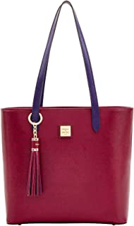 Dooney & Bourke Hadley Coated Leather Tote, Cranberry
