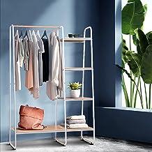 Artiss Clothes Rack Coat Stand Hanger Garment Organiser Closet Storage Metal Shelves