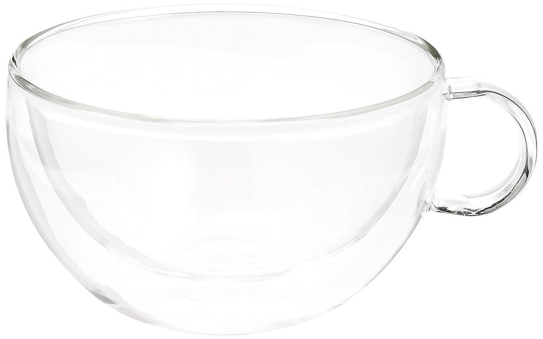 悲惨なパートナー慈悲深いスープカップ 「二重構造耐熱ガラス」 COOL & HOT 79988
