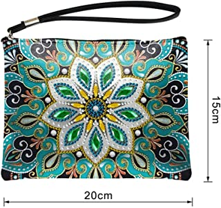 MeterMall DIY Diamond Painting Wallet Embroidery Cross Stitch Wallet for Women QB12