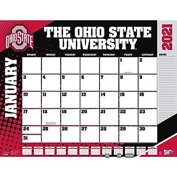 Amazon.: TURNER Sports Ohio State Buckeyes 2021 22X17 Desk