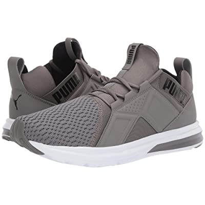 PUMA Enzo ENG Mesh (Charcoal Gray/Puma Black) Men