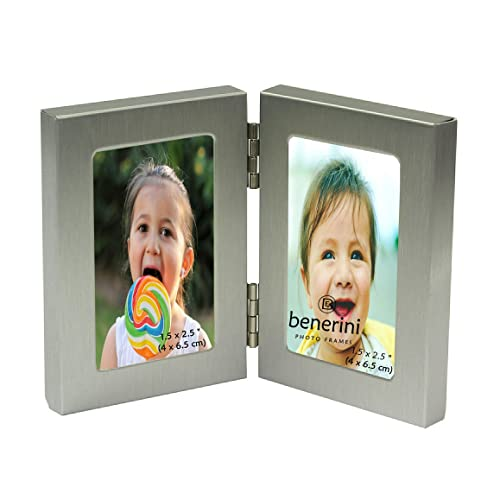 "2 /""Friends/"" 2/"" X 3/"" Mini Picture Silver Photo Frame"