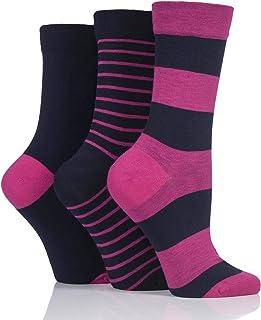 SOCKSHOP Ladies Gentle Bamboo Socks with Smooth Toe Seams in