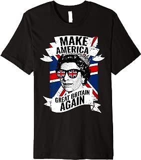 Funny British Queen Premium T-Shirt