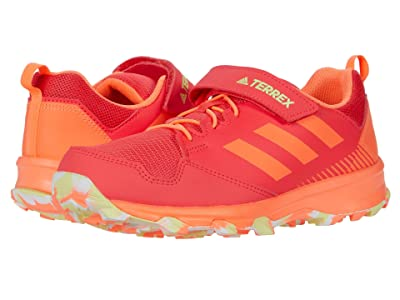 adidas Outdoor Kids Terrex Tracerocker CF (Little Kid/Big Kid) (Shock Red/White/Yellow Tint) Girls Shoes