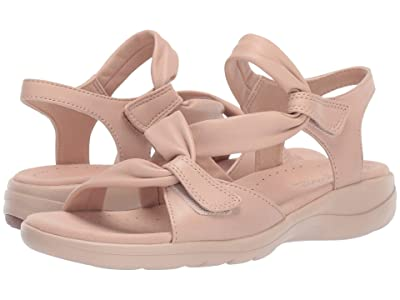 Clarks Saylie Moon (Nude Leather) Women