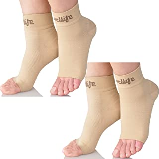Dowellife Plantar Fasciitis Socks, Ankle Brace Compression Support Sleeves & Arch Support, Foot Compression Sleeves, Ease ...