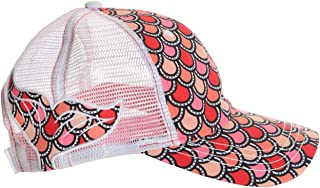 Mermaid Life Scales Tail Caps Womens Hat