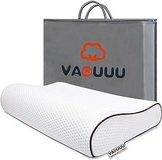 【Amazon限定ブランド】枕 安眠 まくら 低反発枕 安眠枕 ピロー pillow 高さ7-10cm 50*30cm VADUUU