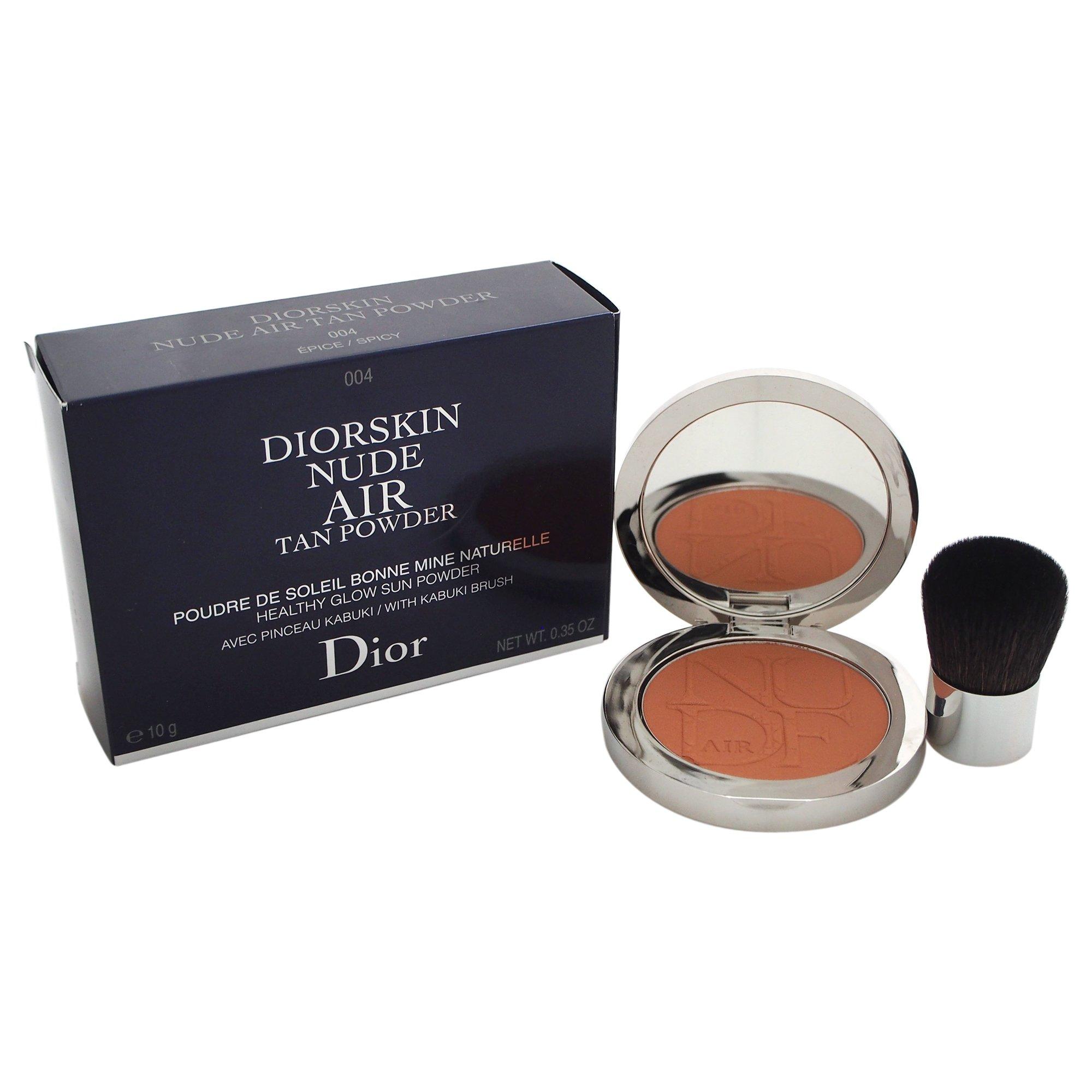 Christian Dior Diorskin Nude Air Tan Powder for Women, Spicy, 0.33 Ounce