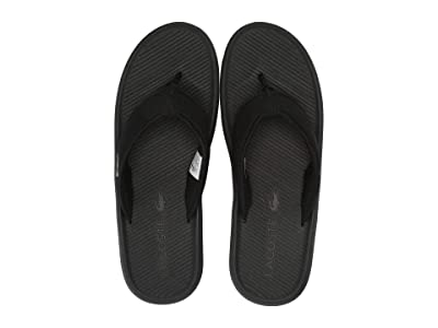 Lacoste Croco Sandal 219 2 CMA (Black/Black) Men