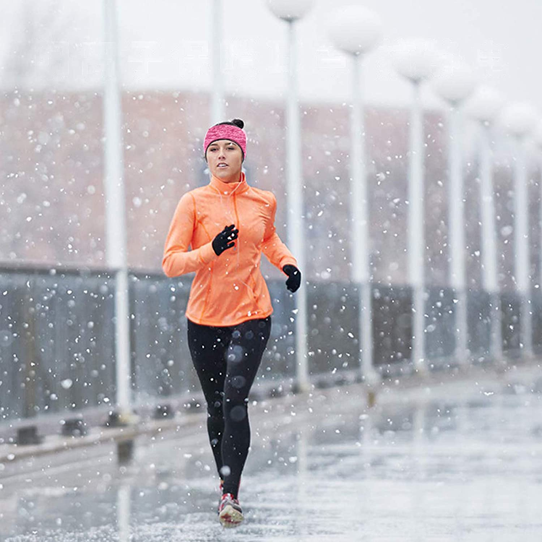 Ear Muffs Fleece Warmers Headbands Winter Ear Warmers for Men Women Warm Ear Muffs for Outdoor Skiing Biking Running Yoga
