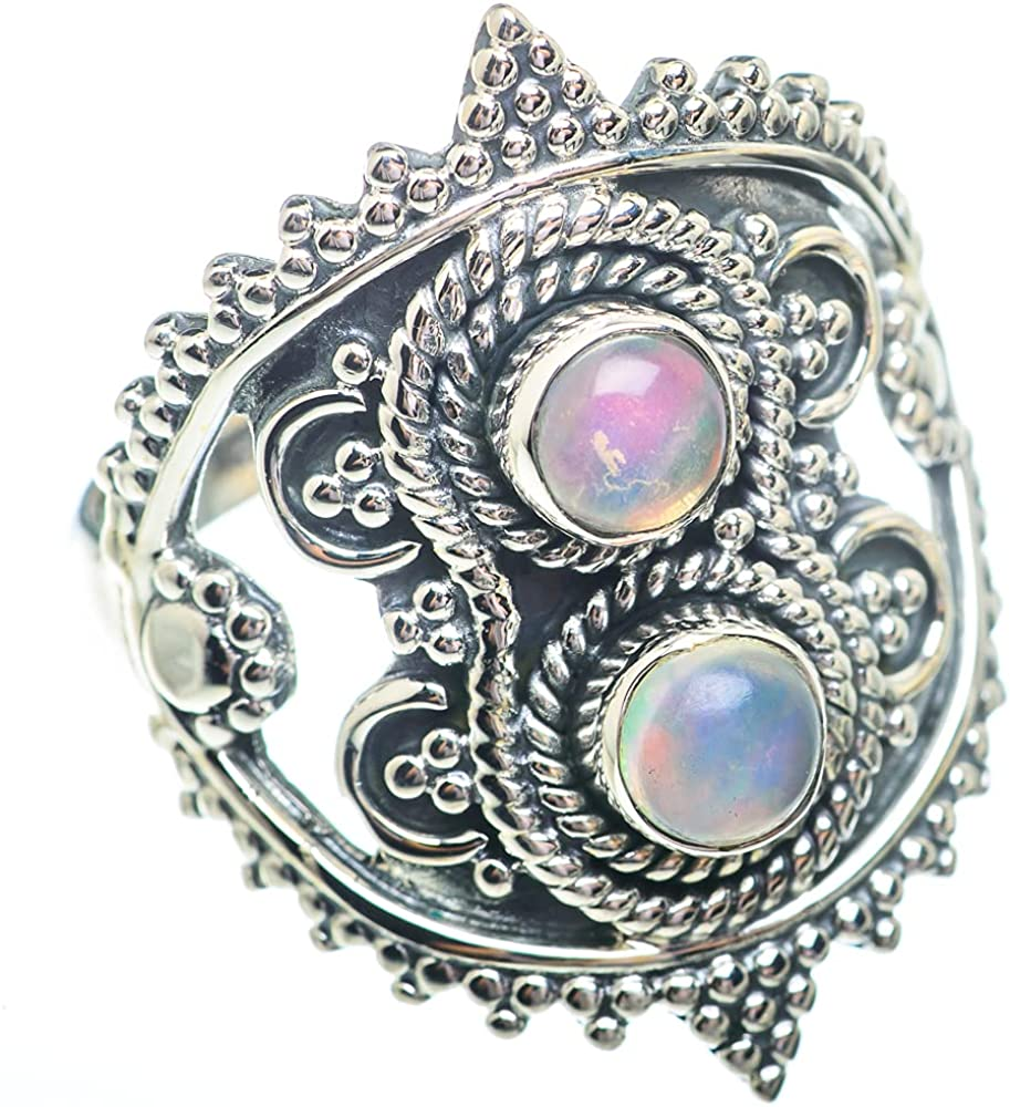Ana Silver Co Natural free shipping Ethiopian Opal Ring 925 Beauty products Size 9.75 Sterlin
