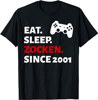 18. Geburtstag Mädchen Junge 2001 Party Geschenk T-Shirt