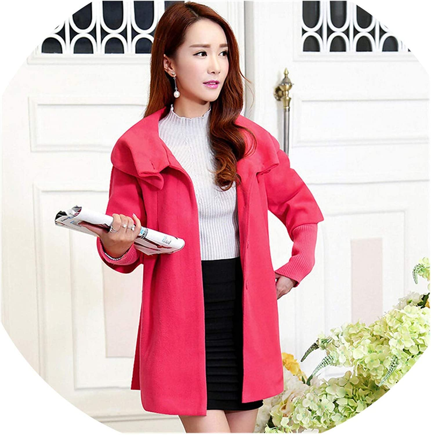 2019 Women's Spring Autumn Winter Maternity Coat Casual Solid Warm Jackets Coats