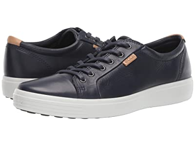 ECCO Soft 7 Sneaker (Marine/Powder) Men