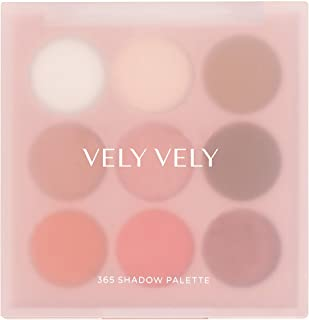 VELY VELY 365 Shadow Palette - Eye Shadow Makeup, 9 Different Shades, High Pigment, Long Lasting (6 g) halloween makeup