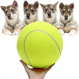 Feroni Environmentally Practice Tennis Ball Beach Dog Pet Toy Sports Tournament Outdoor Fun Cricket Pet Toy