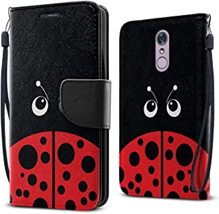 FINCIBO Case Compatible with LG Stylo 4, Fashionable Flap Wallet Pouch Cover Case + Card Holder Kickstand for LG Stylo 4 -...