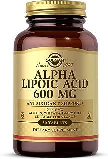 Solgar Alpha Lipoic Acid 600 mg, 50 Tablets