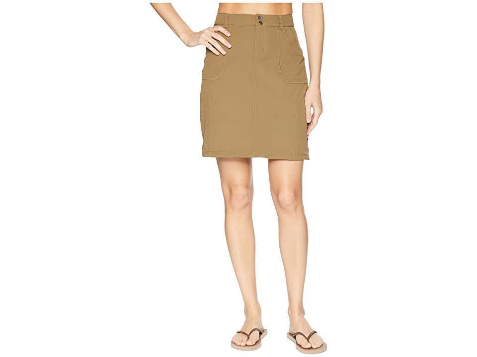 Aventura Clothing Shiloh Skirt (Dark Khaki) Women