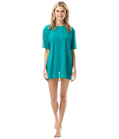 Vince Camuto San Remo Shades Mesh T-Shirt Cover-Up (Riviera) Women