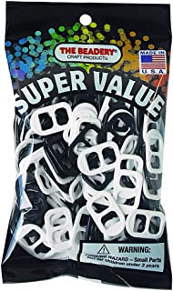 The Beadery SODA POP TAB Black & White