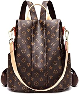 Fashion PU Shoulder Bag Handbags Purse Anti-theft Rucksack Designer Leather Backpack Purse for Women