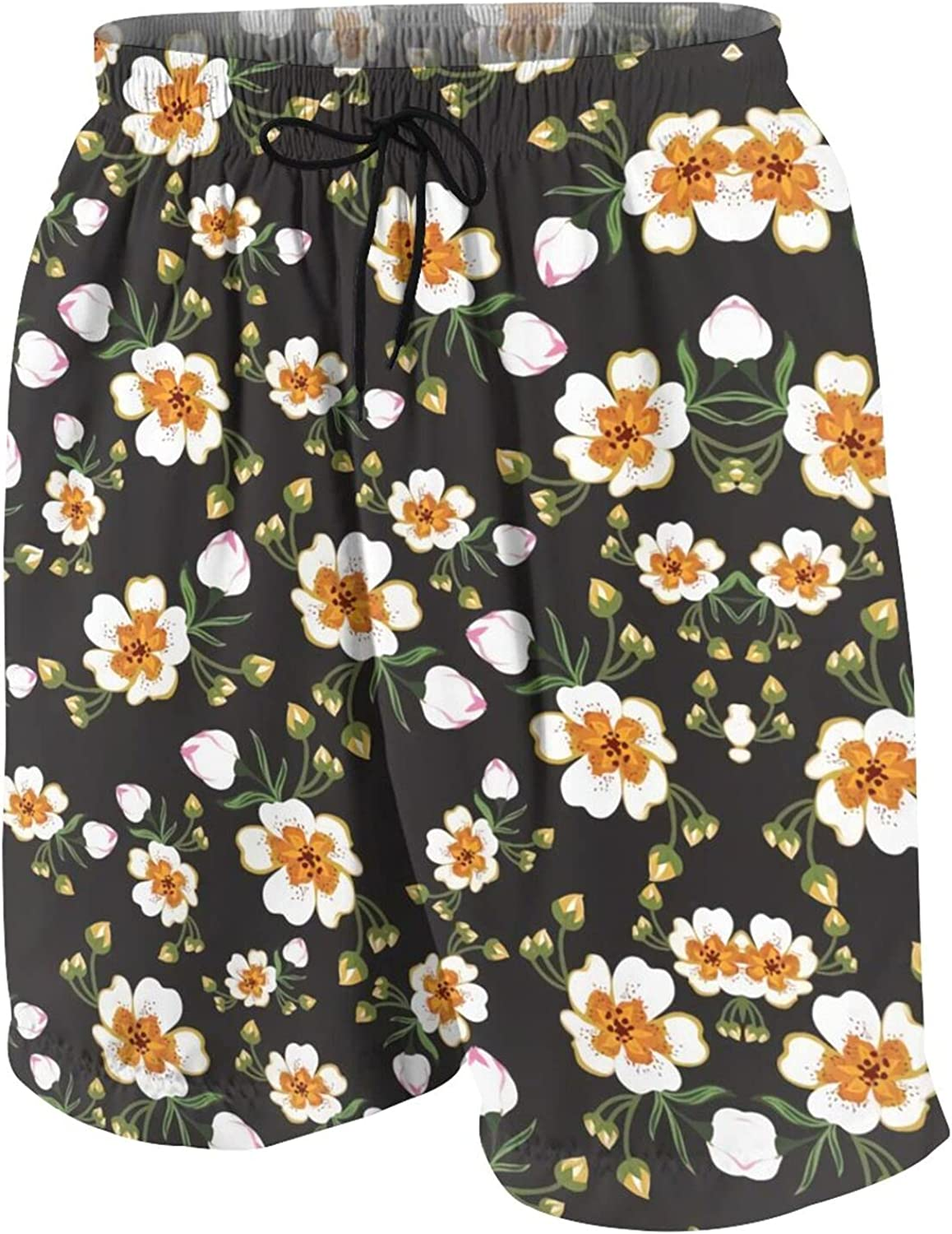 gkvuwhi Little Daisy Swim Brand new Trunks Casual Waist Quick outlet Elastic Dry