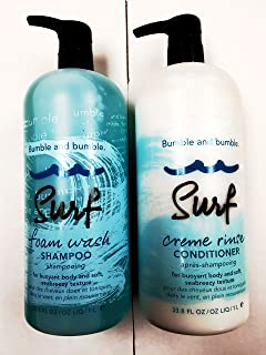 Bumble and Bumble Surf Foam Wash Shampoo and Conditioner Duo 33.8 oz