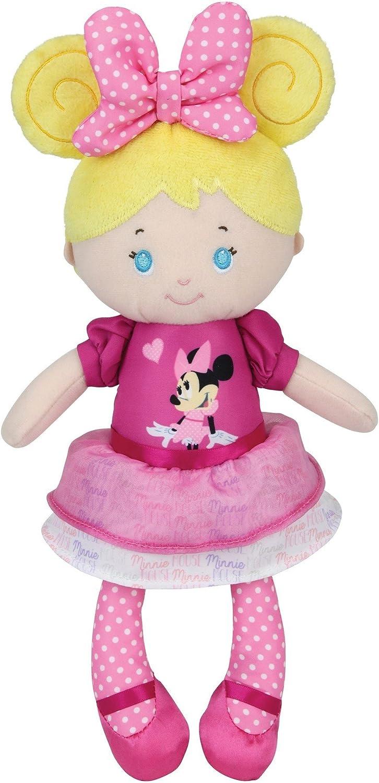 Disney Baby, Minnie Mouse Blonde Plush Doll