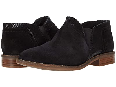 Clarks Camzin Mix (Black Suede Metallic Combination) Women