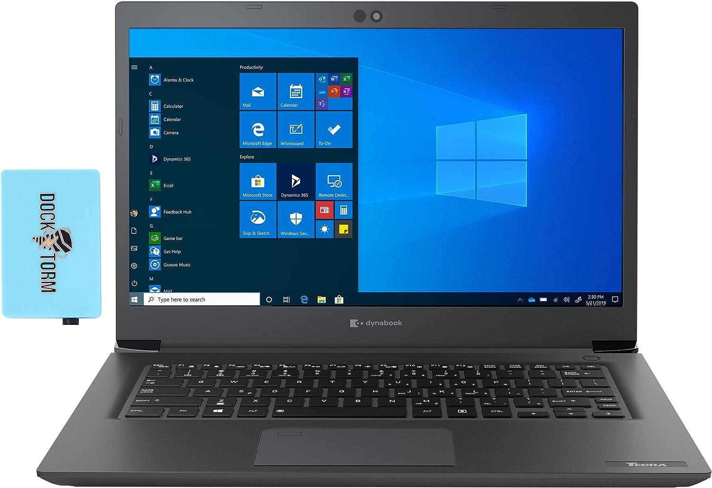 Toshiba Dynabook Tecra A40-G School & Business Laptop (Intel Celeron 5205U 2-Core, 4GB RAM, 128GB SSD, Intel UHD, 14.0