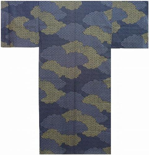 Authentische japanische Samurai Geisha Yukata luftig & kuehler Kimono - Wolken  955