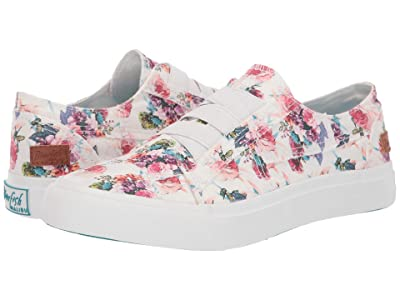 Blowfish Marley (Off-White Starbella Print Canvas) Women