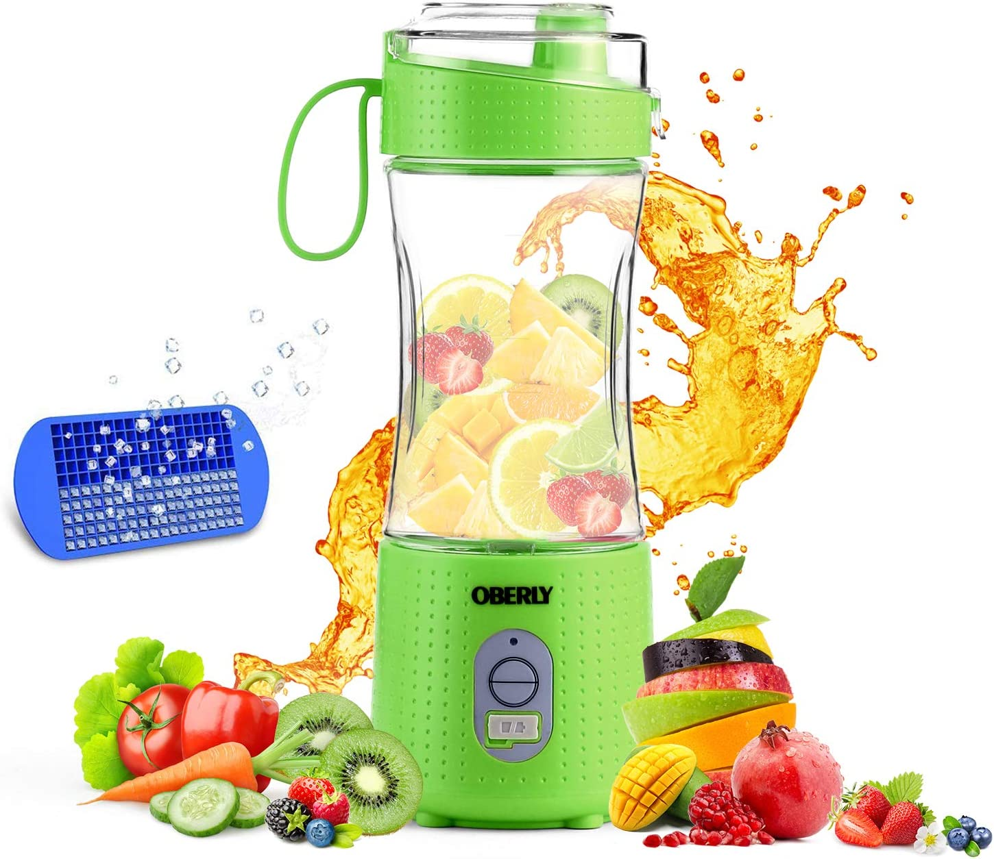 Portable Sale Blender 2 OBERLY Los Angeles Mall Upgraded 4000mAh Personal Ju Powerful