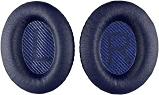 Replacement Ear-Pads Cushions for Bose QuietComfort-35 (QC-35) and QuietComfort-35 II (QC-35 II) Over-Ear Headphones (Navy...
